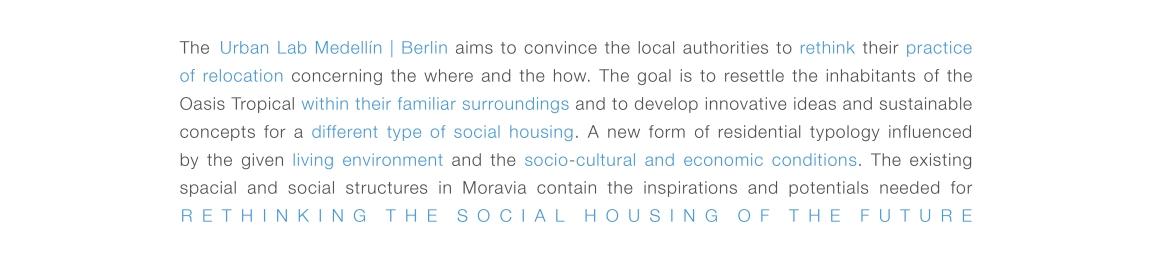 Moravia - Ziele Urban Lab